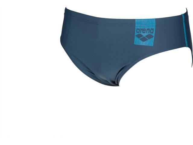 arena Basics Briefs Men shark/turquoise